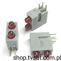 [10szt] LED 3mm Red/Red C74451-A1400-A138 SIEMENS