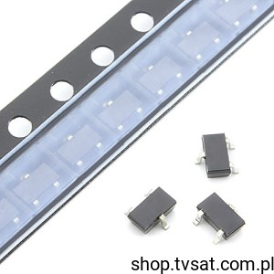 [25pcs] Dioda PIN x2 6GHz BAR64-05 SMD-SOT23 INFINEON