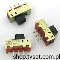 [100szt] MFP1220 Slide Switch 2 Position SIL3 KNITTERSW