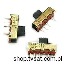 [100szt] MFP1323 Slide Switch 3 Position SIL4 KNITTERSW