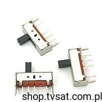 [100szt] SLVA13P-04 Slide Switch 3 Fach SIL4 TONESHINE
