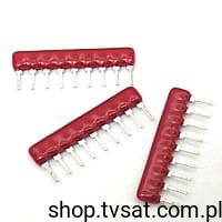 [100szt] 4609X-101-331 330R Network Resistor SIP9 BOURNS