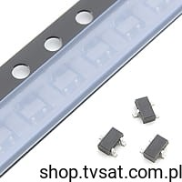 [100szt] Tranzystor PNP 50V 0.5A BC807-40W SMD-SOT323 PHILIPS