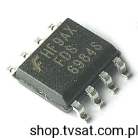 [10szt] Tranzystor Dual MOSFET-N 30V 8.5/5.5A FDS6984S SMD-SO8 FAIRCHILD