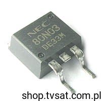 [1szt] Tranzystor MOSFET-N 30V 80A 120W NP80N03EDE SMD-TO263 NEC