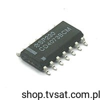 [100szt] CD4073BCM Triple AND Gate SMD-SO14 NSC