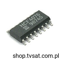 [100szt] HCF4076M 4-Bit D-Type Register with Clock SMD-SO16 SGS