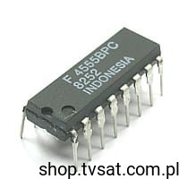[10szt] IC CMOS 4555BPC DIP16 FAIRCHILD