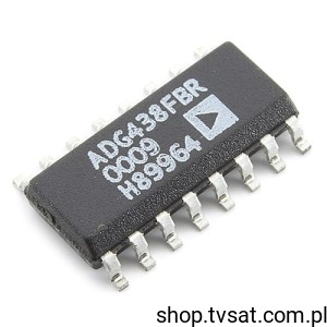 [1szt] ADG438FBR SMD-SO16 ANALOG DEVICES