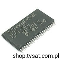 [1szt] IC FLASH 4M -40/+85'C AM29F400BB-90SI SMD-SO44 AMD