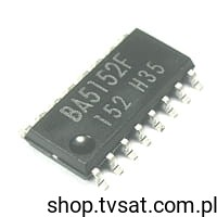 [1szt] IC Power Amp. 15mW BA5152F SMD-SO16 ROHM