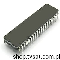 [1szt] IC uPC D80287-10 [USED] DIP40C INTEL