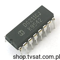 [1szt] IC Quad Switch DG211CJ DIP16 HARRIS