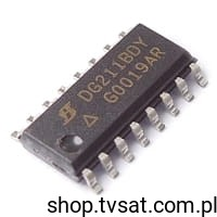 [1szt] IC Quad Switch DG211BDY SMD-SO16 SILICONIX