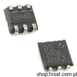 [1szt] IC Dual Addres Switch DS2406 SMD-TSOC6 DALLAS