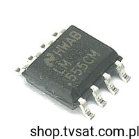 [1szt] IC Timer LM555CM SMD-SO8 NATIONAL