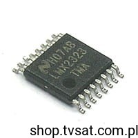 [1szt] IC PLL 2.0GHz LMX2323 SMD-TSSOP16 NATIONAL