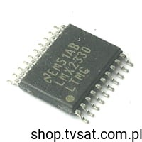 [1szt] IC PLL 2.5GHz/510MHz LMX2330LTMX SMD-SLD20A NATIONAL