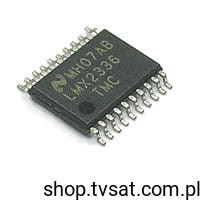 [1szt] IC PLL 2.0GHz LMX2336LT SMD-TSSOP20 NATIONAL
