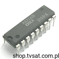 [2szt] MSM62X42BRS Real Time Clock IC DIP18 OKI