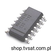[1szt] IC Quad RS232 Receivers MAX1489ECSD+T SMD-SO14 MAXIM