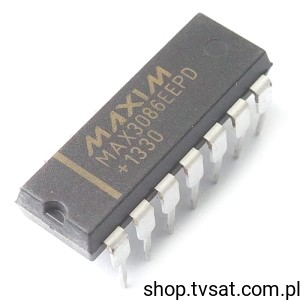 [1szt] IC RS-485/RS-422 Transceivers MAX3086EEPD DIP14 MAXIM