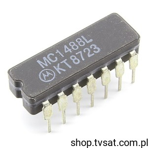 [1szt] IC RS232 -55/+125'C MC1488L DIP14C MOTOROLA
