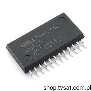 [3szt] MSM6585MAZ ADPCM Voice Synthesis SMD-SO24L OKI