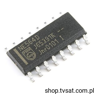 [3szt] NE564D PLL Frequency Generator Up 50MHz SMD-SO16 PHILIPS