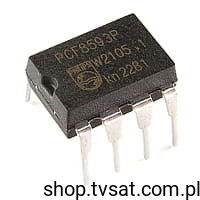[1szt] IC RTC I2C PCF8593P DIP8 PHILIPS SEMICONDUCTORS
