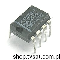 [1pc] IC EEPROM I2C 4K PCF8594E-2 DIP8 PHILIPS