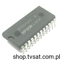 [2szt] RTC64611A Real Time Clock ICs DIP24 EPSON
