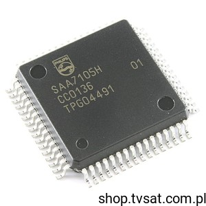 [1szt] IC SAA7105H SMD-QFP64 PHILIPS SEMICONDUCTORS