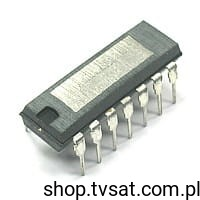 [1szt] IC Power Amp. 1.8W TAA611T12 DIP14 SGS