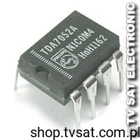[1szt] IC Power Amp. 1W TDA7052A DIP8 PHILIPS