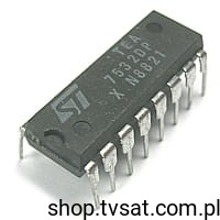 [1szt] IC Power Amp. 100mW TEA7532DP DIP16 STM