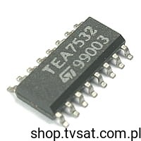 [1szt] IC Power Amp. 100mW TEA7532FP SMD-SO16 STM