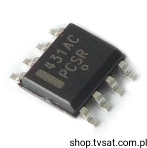 [100szt] TL431ACDR Programmable Reference SMD-SO8 TI