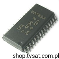 [1szt] IC Power Amp. 20mW U4050B-AFLG SMD-SO28 TELEFUNKEN