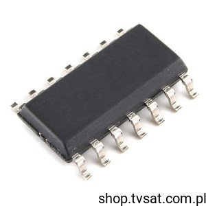 [100szt] 74ABT125CSCX Quad Buffer 3-State SMD-SO14 NSC
