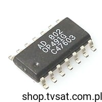 [1szt] IC Op. Amp. R-R OP491GS SMD-SO14 ANALOG