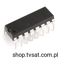 [1szt] IC TTL CD74HCT40102E DIP16 HARRIS