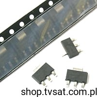[100szt] BSP62 PNP 80V 0.5A 1.2W DARLNGTON SMD-SOT223 PHILIPS