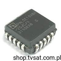 [10szt] PALCE16V8H-25JC/4 PLD 8-In ICs SMD-PLCC20 AMD