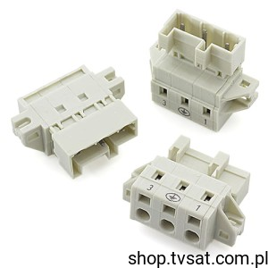 [10szt] 723-603/019-042 Power Connector 3 Pin BLOCK WAGO