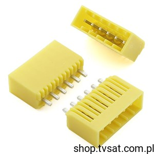 [100szt] 342706 Connector 6 Pins Vertic SIL6 AMP