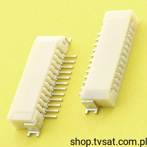[10szt] 52852-1270 Socket to Flat Cable 12 Pin SMD MOLEX