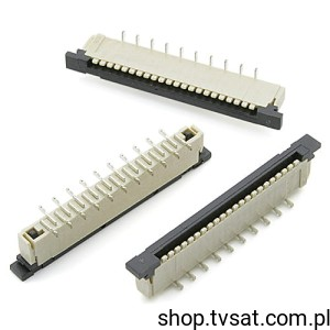 [10szt] 2-487953-1 Connector 21 Pins to Tape SMD AMP