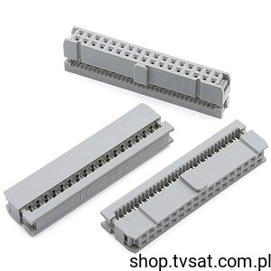 [10szt] 8613-034-31-30-345 Socket 2 x 17 Pin to Wire FCICONN