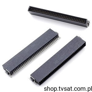 [2szt] 154-766 Connector 2 x 34 Pin SMD ERNI